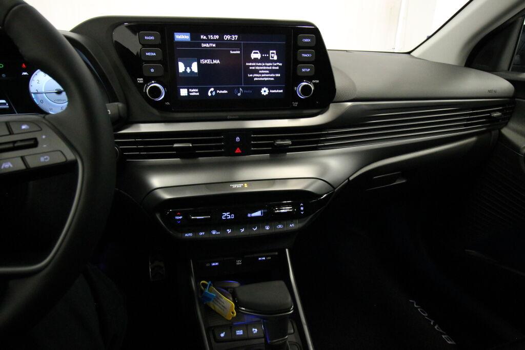 Hyundai BAYON 2021 Hyundai BAYON 1.0 T-GDi 100HV 7DCT Comfort **Talvirenkaat ja lämpöpaketti veloituksetta / 0% korko**